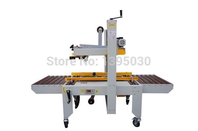 Tape Sealing Machine Carton Sealer Semi Auto Carton Sealing Packingmachine Fxj 6050 220v 180w With English Manual Yesterday S Price Us Sealer Tape Machine