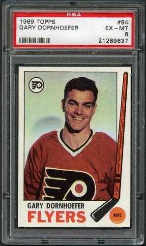 1969 70 Topps 94 Gary Dornhoefer PSA 6 EX MT Hockey Philadelphia Flyers | eBay