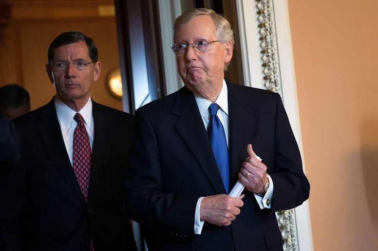 Senate Majority Leader Mitch McConnell said the Republican Party's presidential platform won't include Donald Trump's more controversial positions, such as a ban on Muslims from entering the country, a sign many Republicans remain uncomfortable with their standard bearer in this year's presidential election.