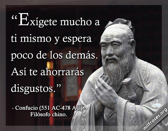 Confucio, filósofo chino.