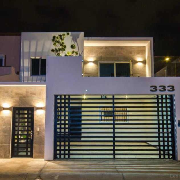 Las 25 mejores ideas sobre fachadas de casas modernas en - Disenos casas modernas ...