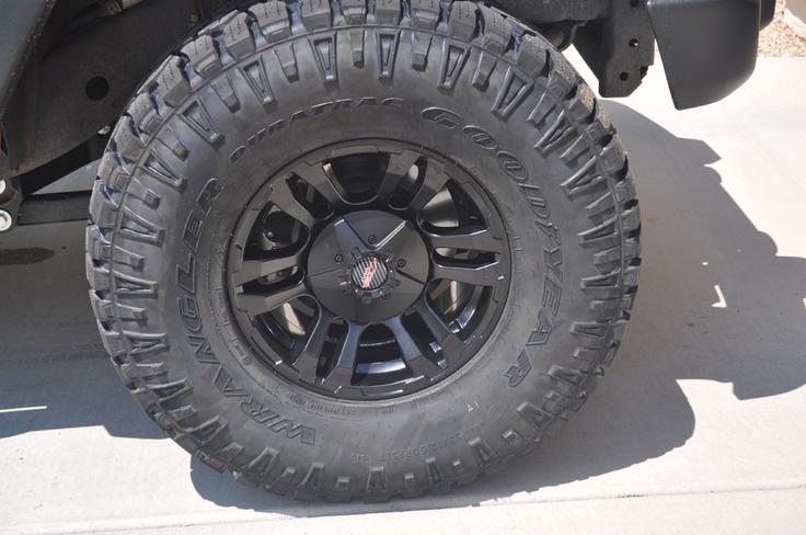 MB Wheels TKO Closeup