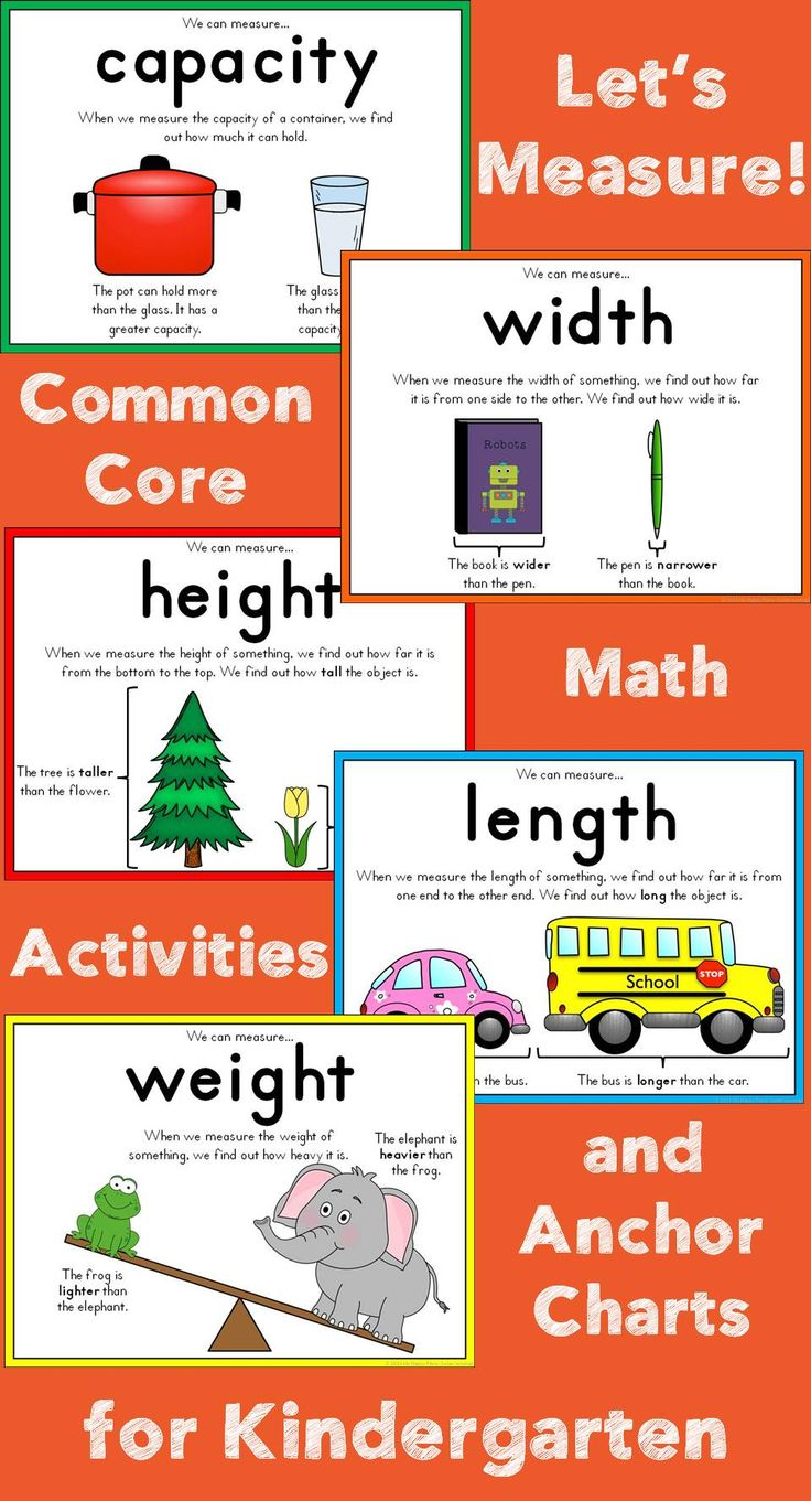 1000  images about kinder measurement on pinterest