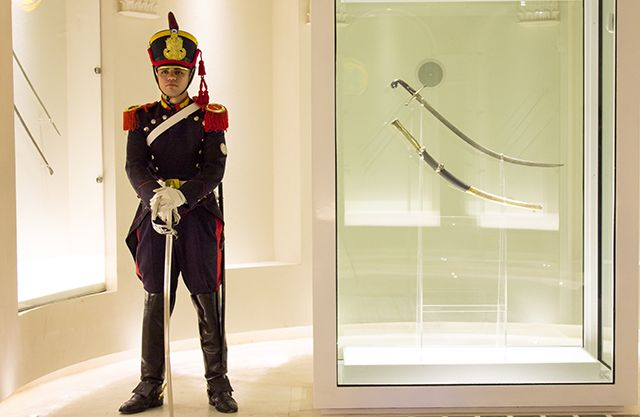 Sable corvo de San Martín. Museo Histórico Nacional