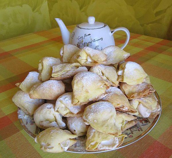 Воздушное печенье с безе