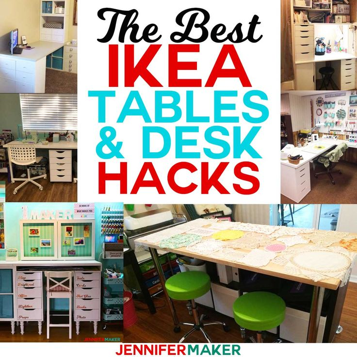 Craft Ideas For Your Desk: The Best IKEA Craft Room Tables And Desks Ideas