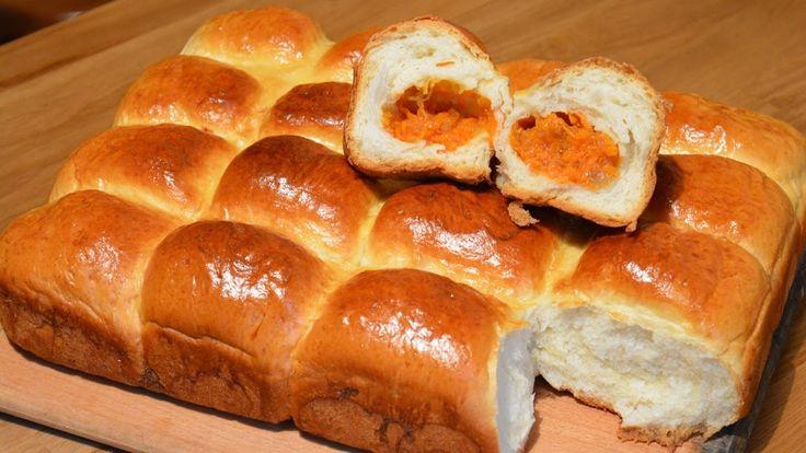 Пирожки с тыквой   Холодное дрожжевое тесто