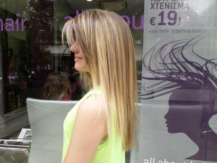 #Romylos - All About Hair #highlights #blonde #hair #baleyage