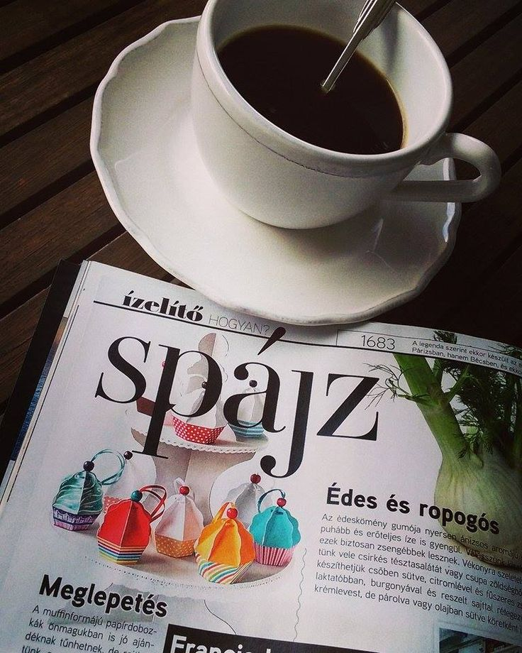 Amikor a kedvenc magazinom hasábjain ott a munkám eredménye, miszerint Koller Eszter bekerült a Spájz rovatba muffinjaival! :) Juppppiiiii!!!!