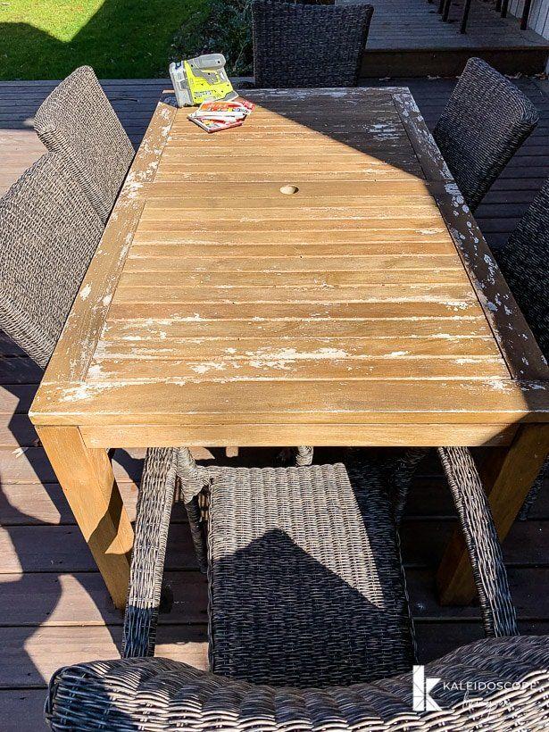 4 Steps To Restoring Teak Furniture Teak Outdoor Furniture Diy Outdoor Furniture Furniture Care