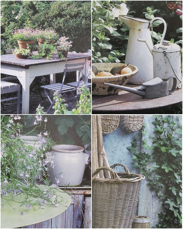 The charm of old cottage gardens