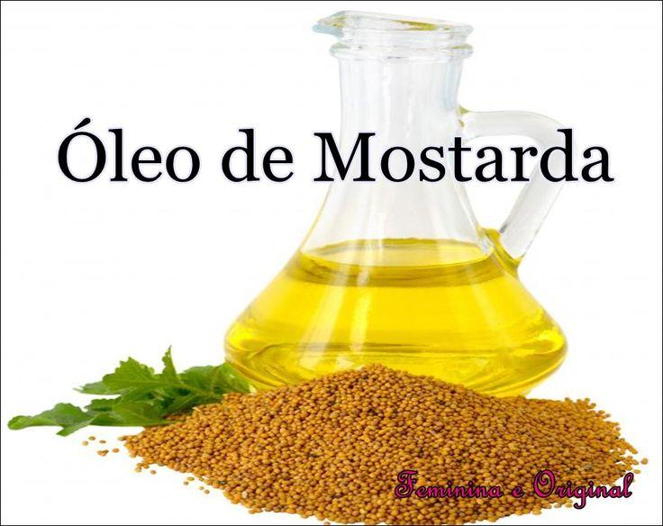 Óleo de Mostarda!! Precioso ♥