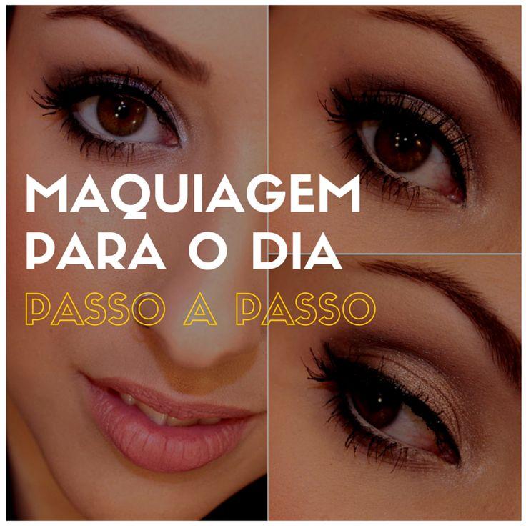 Maquiagem Para o Dia - http://webfeminina.com/maquiagem-para-o-dia/