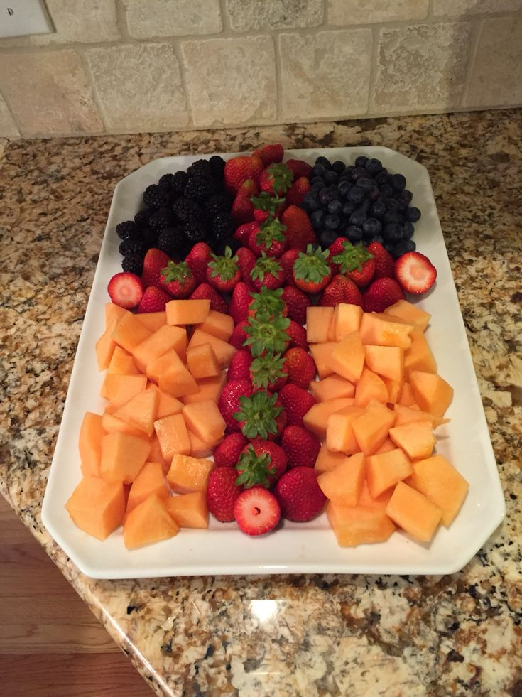 Fruit Cross for First Communion.  Healthy!
