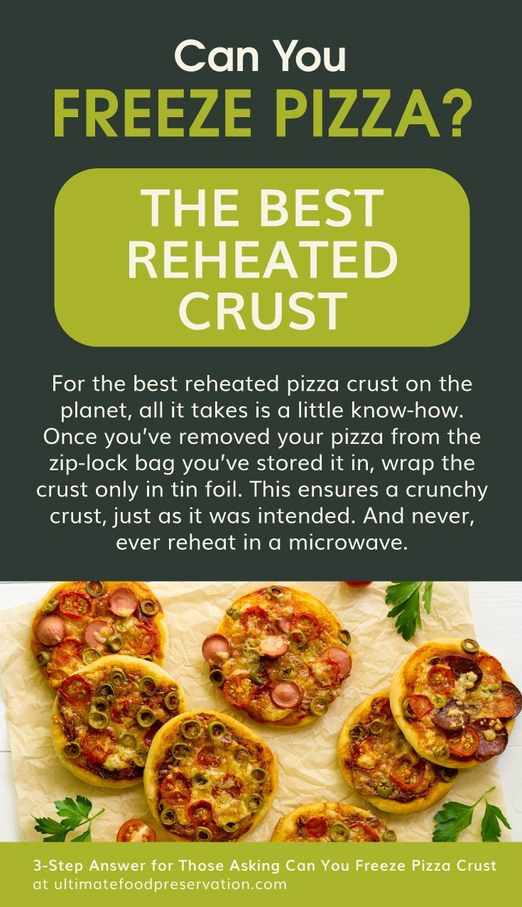 Those Asking Can You Freeze Pizza