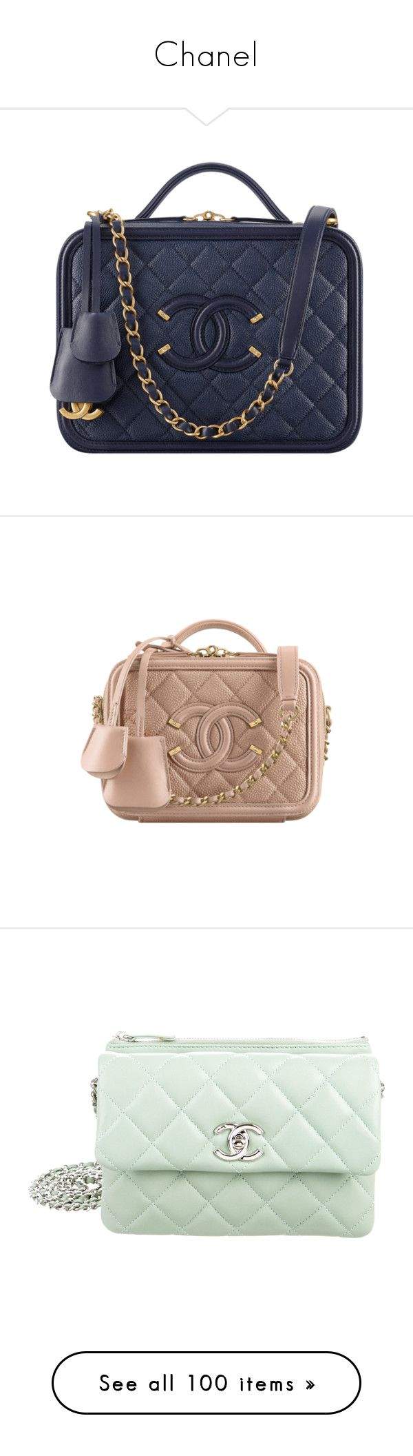 """Chanel"" by backupoffmee ❤ liked on Polyvore featuring chanel, bags, handbags, shoulder bags, chanel shoulder bag, leather shoulder bag, chanel purse, leather handbags, leather purses and purses"