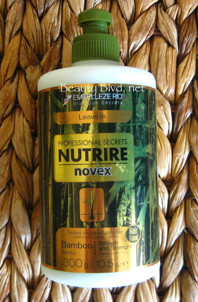 Novex Bamboo Review Relaxed hair care, Hair care