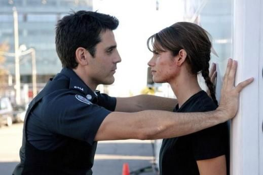 Andy and Sam, rookie blue. I kinda love this show ❤ best.couple.ever. (Basically )