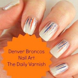 Best 25 denver broncos nails ideas on pinterest broncos nails denver broncos nail art prinsesfo Image collections