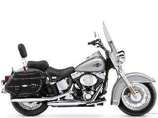 #motorcycles  Harley-Davidson FLSTCI Heritage Softail Classic 2005 ...