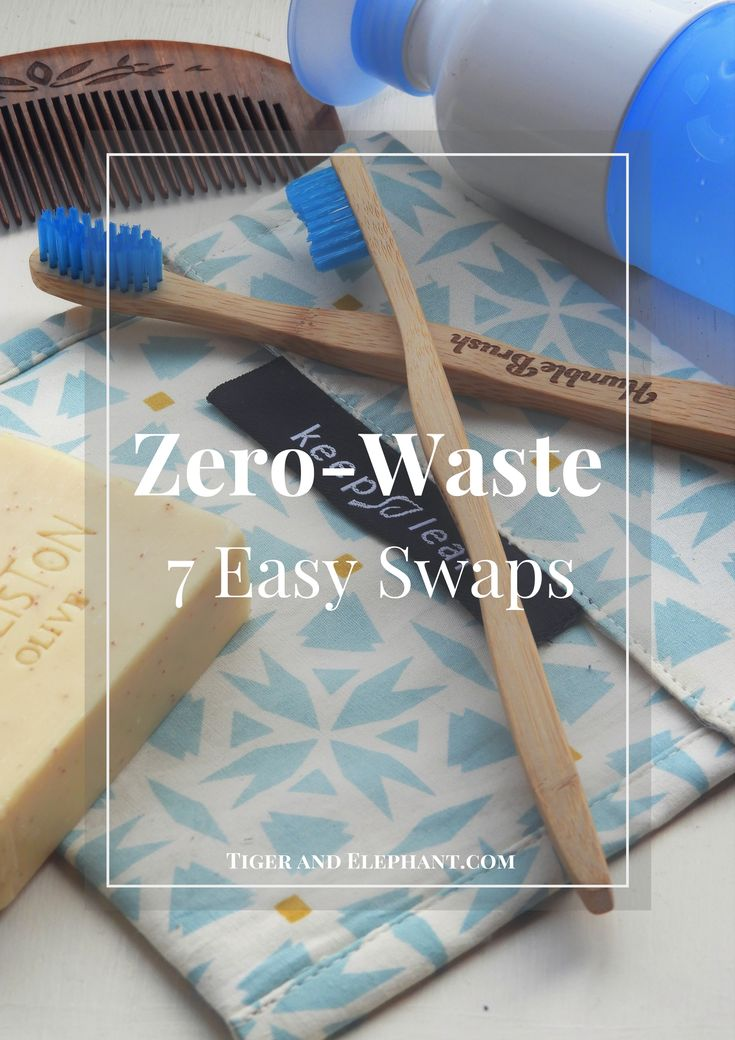 While being completely 'Zero-Waste' might seem like an unachievable goal, there are some small changes you can make right now to reduce the amount of plastic waste in your life. Here are some easy swaps you can make right away! #ZeroWaste