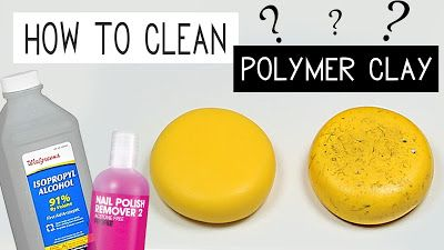 This Charming Stuff - polymer clay tutorials and DIY : HOW TO CLEAN POLYMER CLAY??? - TIPS & TRICKS #1