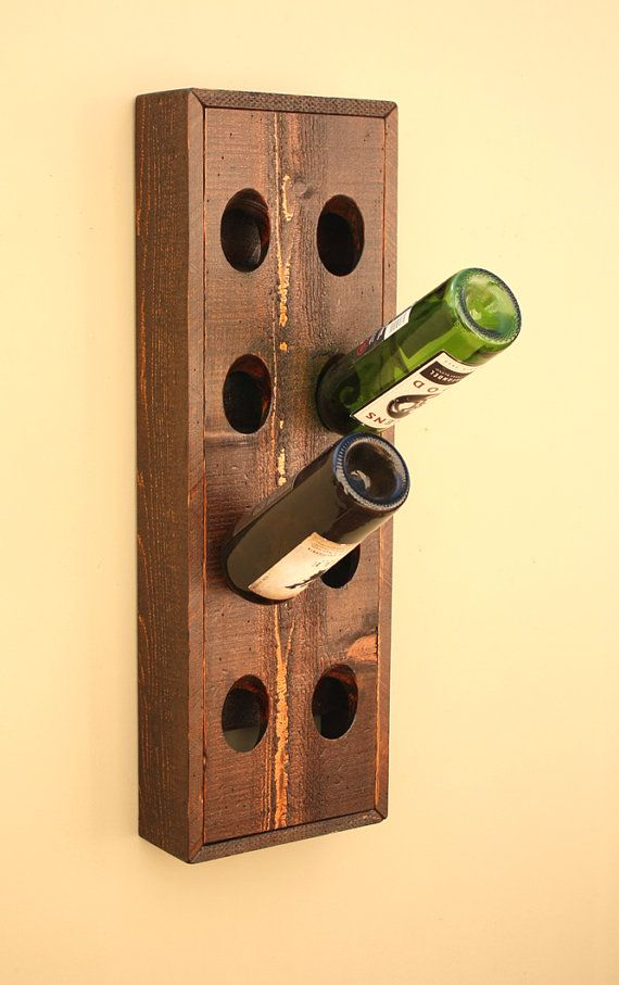 38 best Etsy images on Pinterest | Wall wine racks, Wine cellars and ...