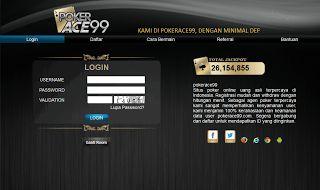 pokerace99.com adalah tempat atau penyedia permainan texas poker secara real money, minimal deposit Rp. 50.000,- Support Bank Mandiri, BRI, BNI, dan BCA