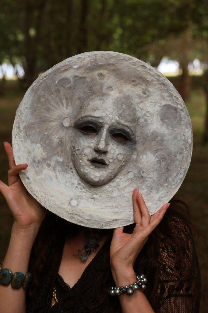 moon mask by Virginia Lee, photo Steve Earp
