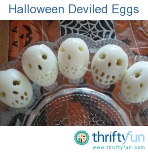 something fun around the halloweenday of the dead hard boil eggs use - Funny Halloween Recipes