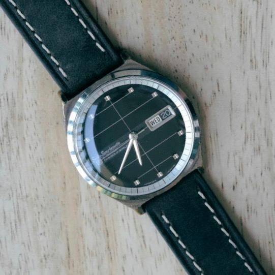 Seiko-Sportsmatic-Automatic-Day-Date-Vintage-Classic-Collectible