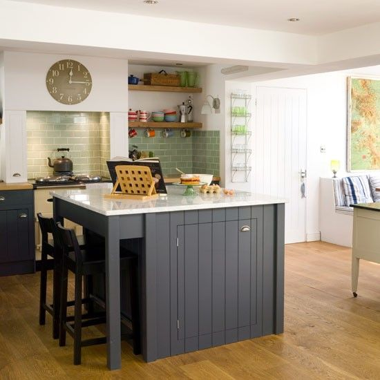 Kitchen decorating ideas uk for Cheap kitchen makeover ideas uk