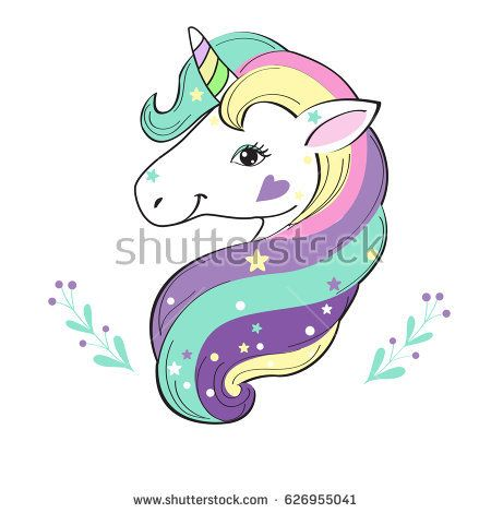 Unicorn Pop Art Unicornios Pinterest Unicornios