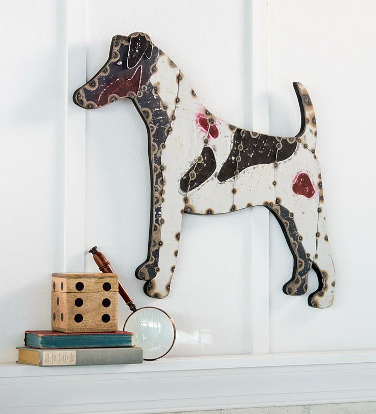 159 best smooth fox terrier dog stuff images on pinterest for Dog wire art