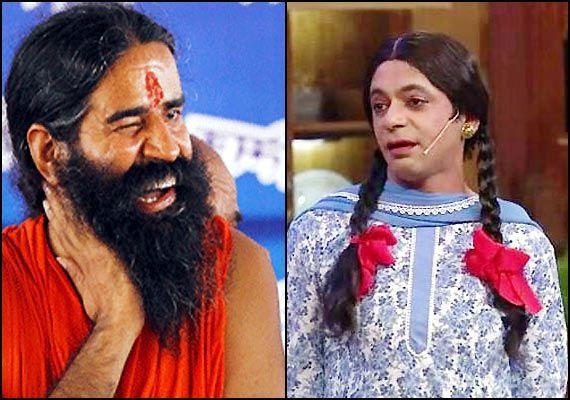 'Gutthi' takes Baba Ramdev on laugh riot