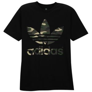 adidas Originals Graphic T-Shirt - Men's - Black/Brown/Green