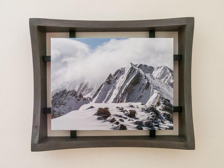 Edina Art Fair -Media Frame One 12x16 Art - Green / Black