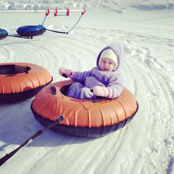 Gorgoza Park in Park City Utah. Fun tubing, mini snowmobiles, and learn to ski!