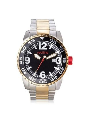83% OFF red line Men's 60017 Ignition Silver/Gold/Black Stainless Steel Watch