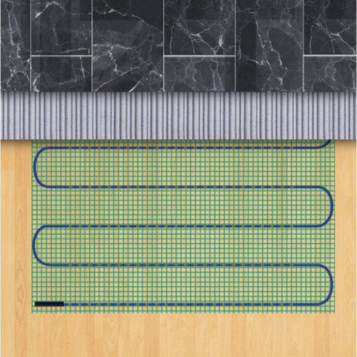 Tempzone 240v Underfloor Heating System Kit In 2020 Underfloor