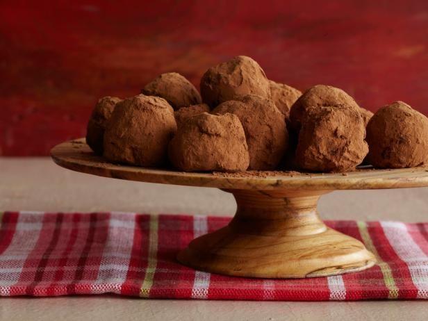 Get Tyler Florence's Dark Chocolate Truffles Recipe from Food Network