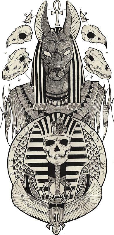 Best 25 anubis tattoo ideas on pinterest anubis anubis for Egyptian tattoo flash