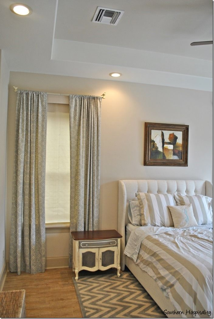 Master bedroom  southern hospitality