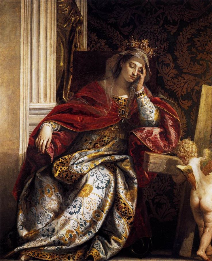 Paolo Veronese (Italian, c1528-1588)  The Vision of St Helena, c.1580. Oil on canvas. Pinacoteca, Vatican