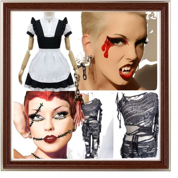 """""""BEST FRIENDS @ HALLOWEEN"""" by diaparsons on Polyvore"""