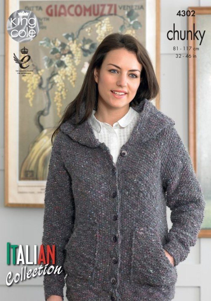 Hoody and Top in King Cole Verona Chunky - 4302 - Leaflet. Discover more patterns by King Cole at LoveKnitting. We stock patterns, yarn, needles and books from all of your favourite brands.