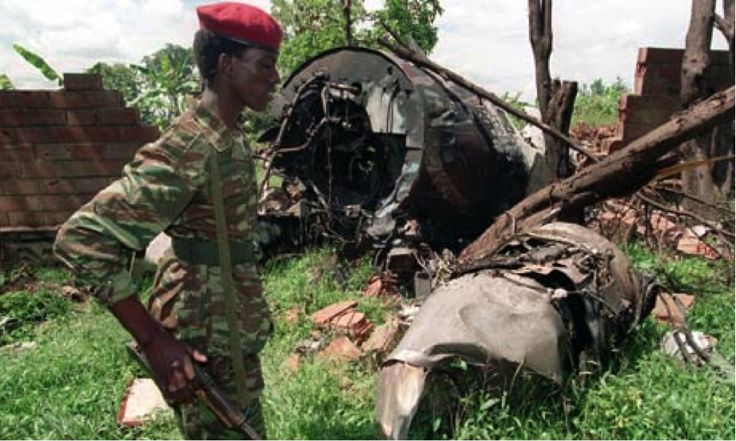 In April, 1994, a plane carrying the president of Rwanda and of Burundi was destroyed. The Hutus blamed the Tutsis for the death of the presidents and began mass murdering Tutsis. An estimated 800,000 Tutsis were killed within the period of 100 days.