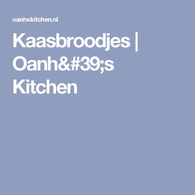 Kaasbroodjes | Oanh's Kitchen