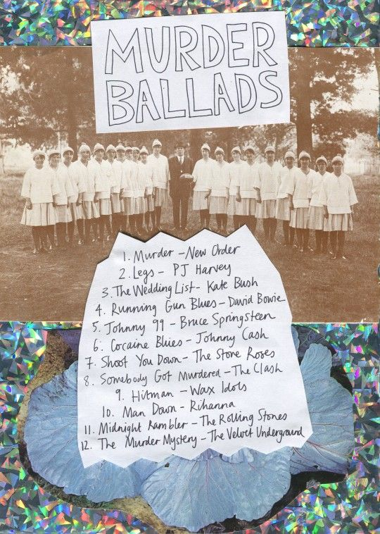 Friday Playlist: Murder Ballads -  I don't condone violence, but these are some pretty great songs.