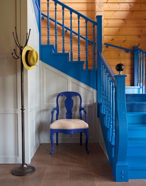 дневник дизайнера: Интерьер деревянного дома. Красивый проект Ирины Дымовой